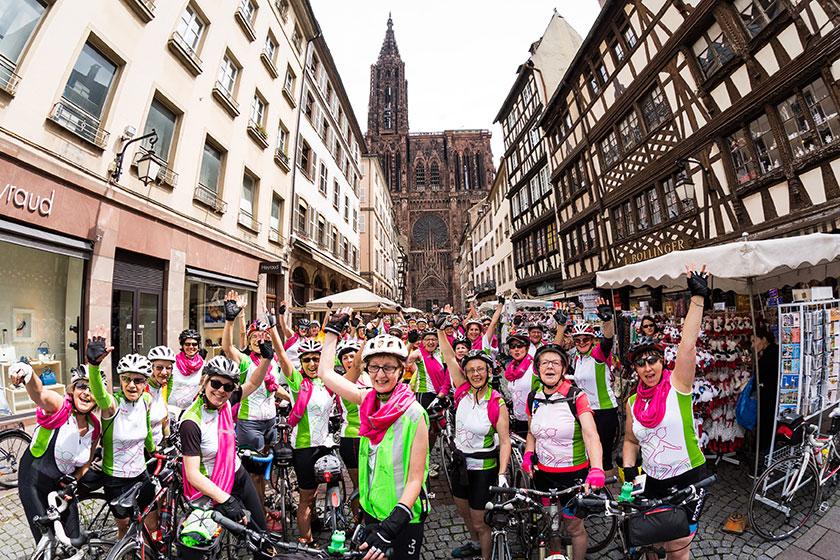 L'événement Toutes à Vélo à Strasbourg en 2016
