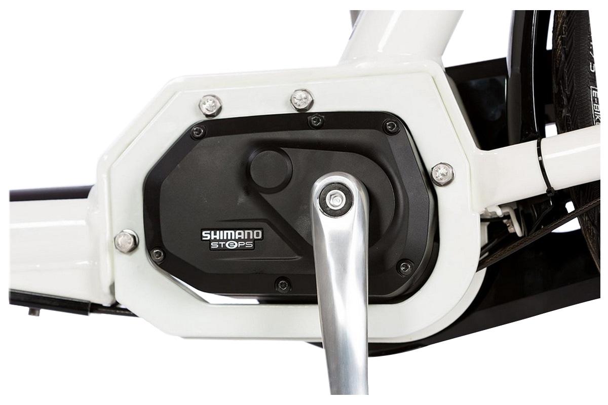 Moteur pédalier Shimano Steps pour biporteur électrique Bakfiets Classic Steps