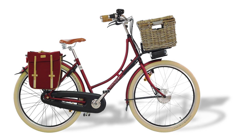 Vélo Oma Premium électrique avec moteur roue avant