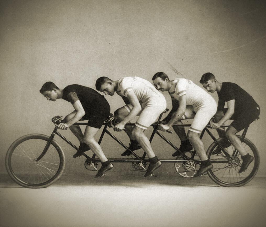 Un exemple de quadruplette au début du 20e siècle
