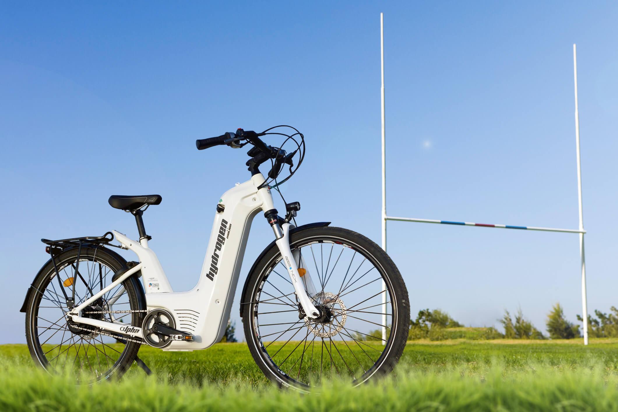 Le vélo à hydrogène français Alpha.