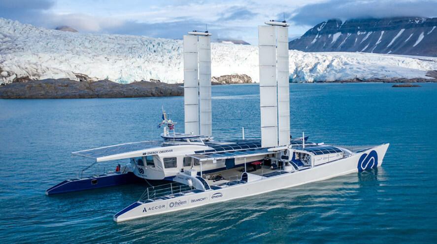 Le navire à hydrogène Energy Observer