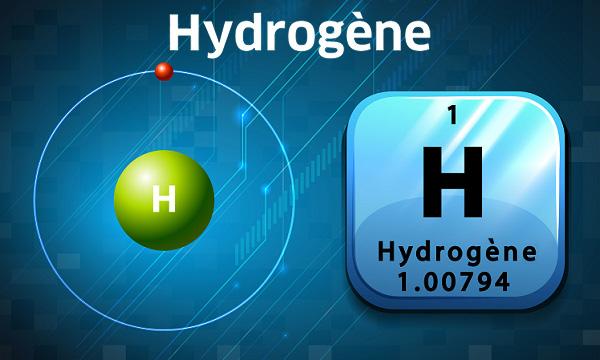 L'hydrogène, premier élément du tableau périodique