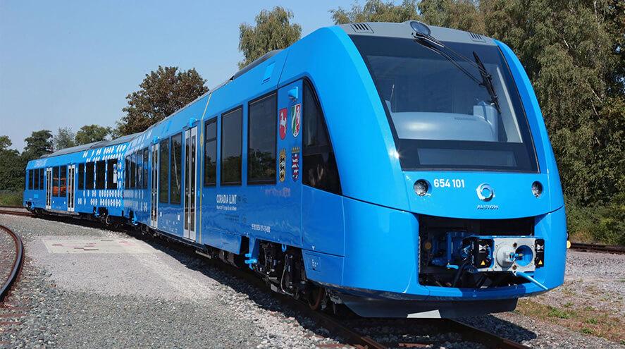 Le train à hydrogène Alstom Coradia iLint