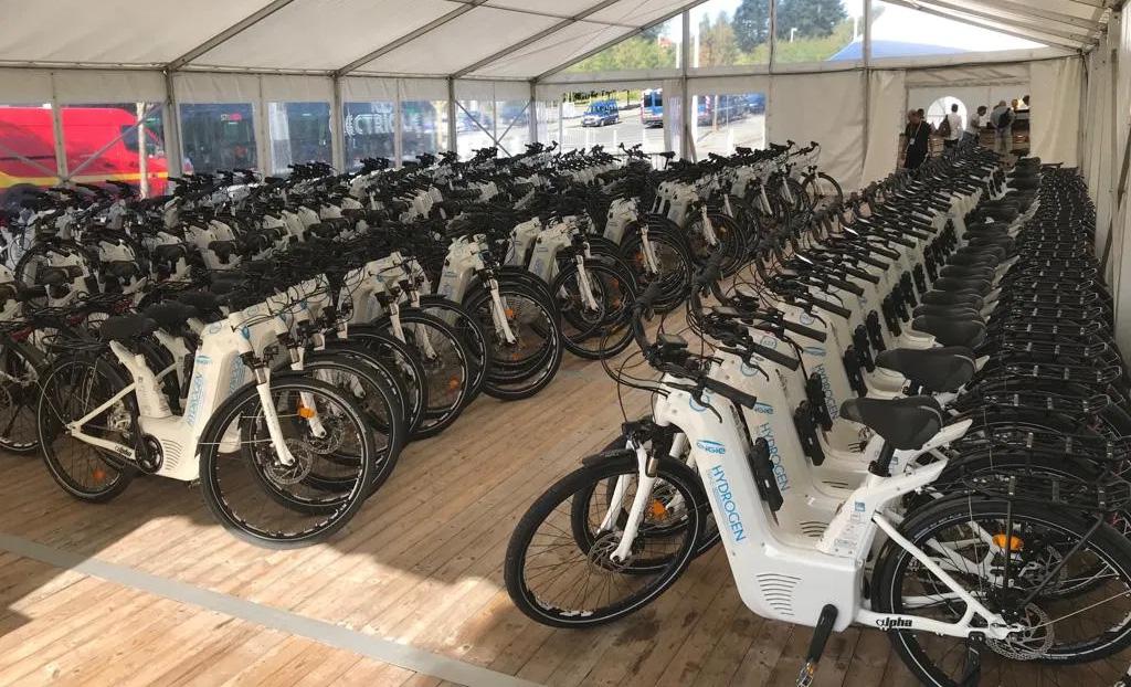 La flotte de vélos Alpha déployée pour le G7