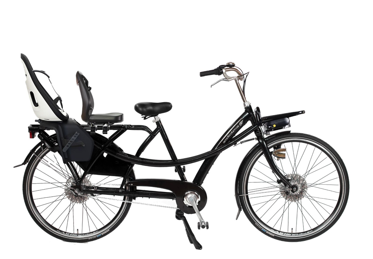 Longtail Twin porteur d'enfants pour le showroom de Paris