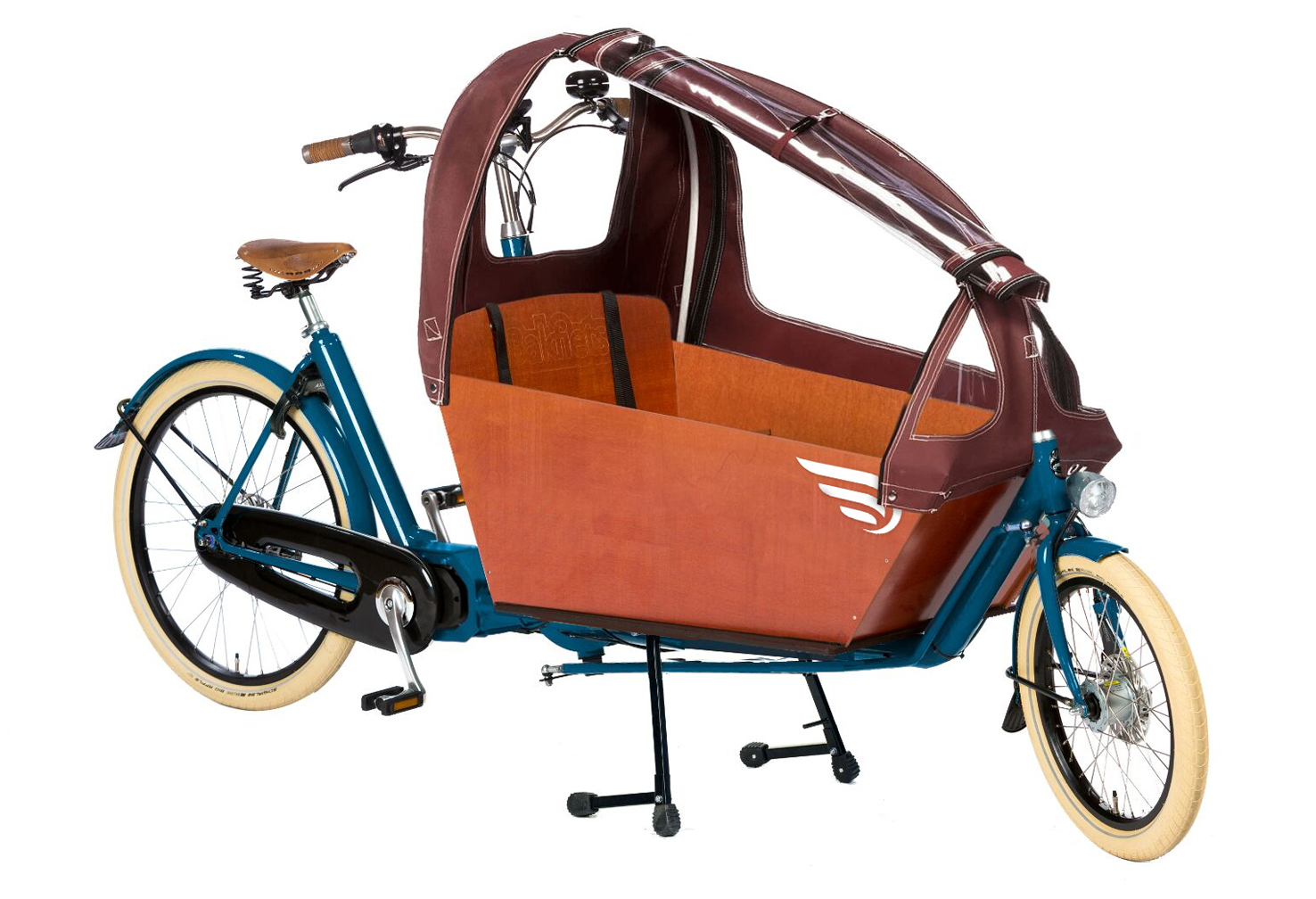Biporteur Bakfiets Confort Steps pour showroom de paris