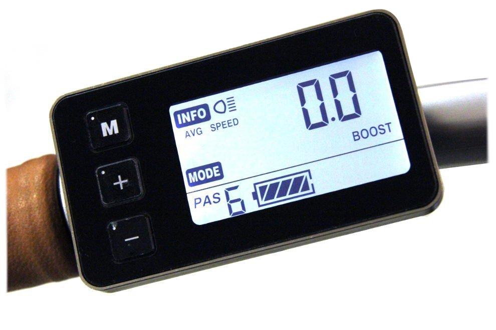 Console écran LCD 6 niveaux d'autonomie