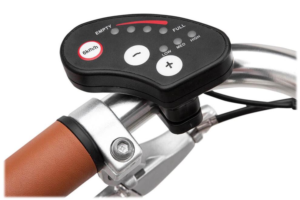 Console LED 4 niveaux d'autonomie