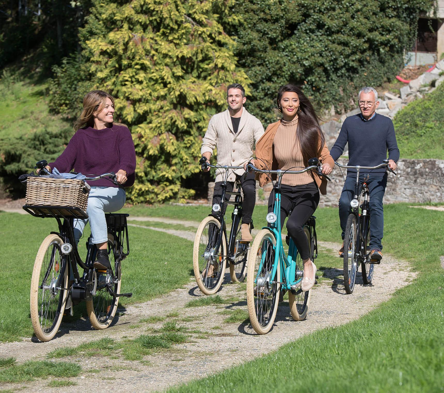 Tout le monde se met au vélo électrique !