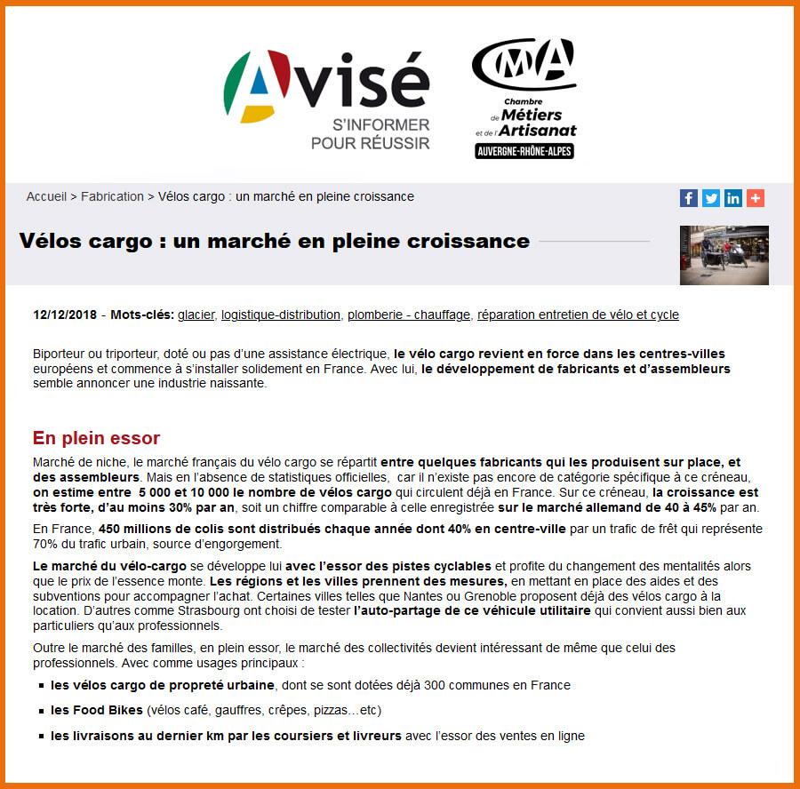 Article Avisé - Chambre de métiers et de l'artisanat Auvergne-Rhône-Alpes