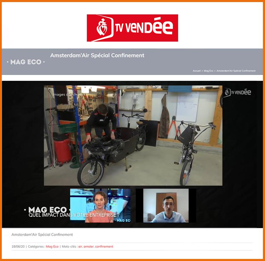 TV Vendée reportage confinement