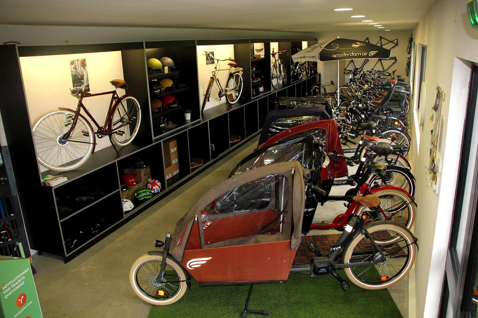 L'ancien showroom d'Amsterdam Air