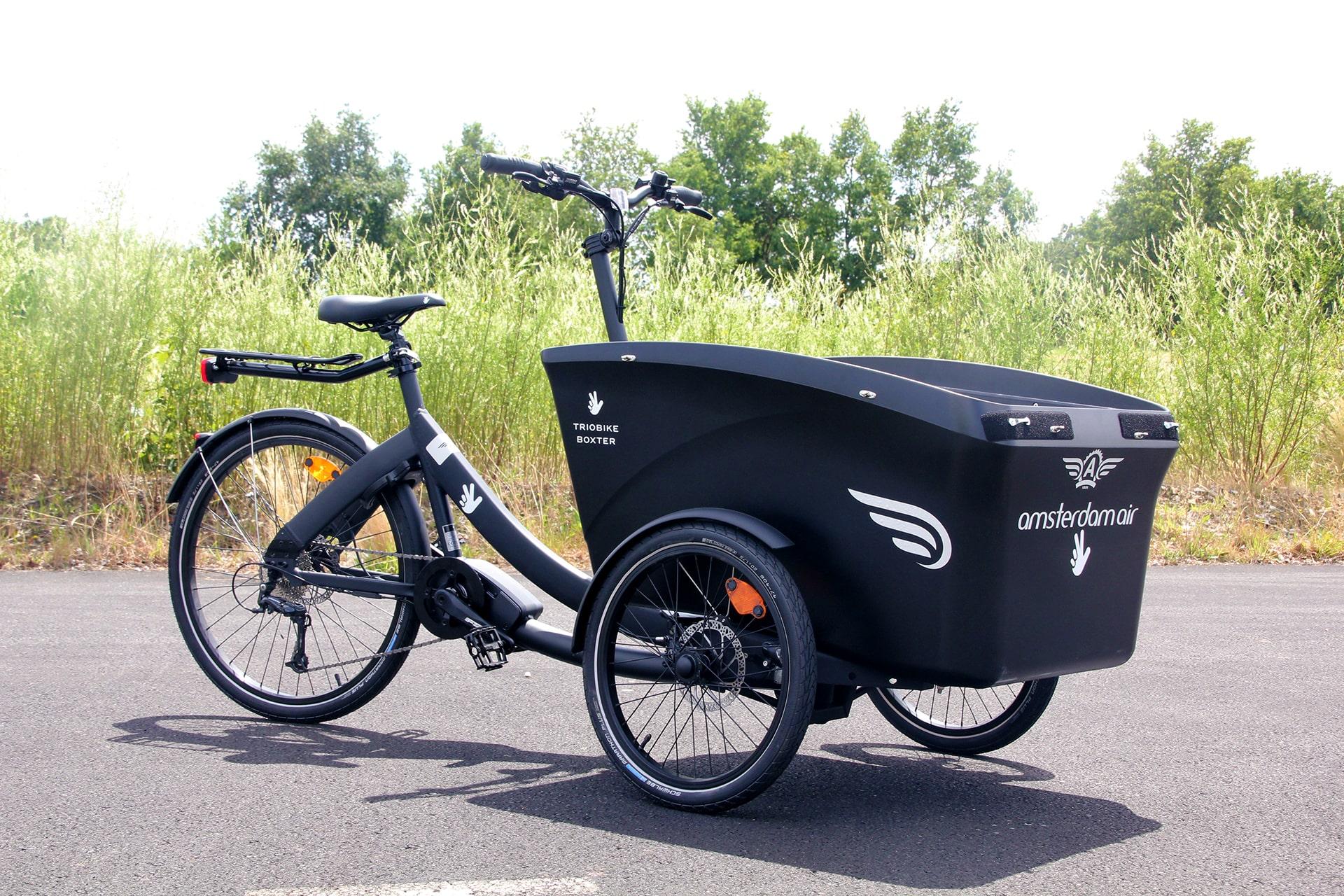 triobike triporteur E-Boxter amsterdam air