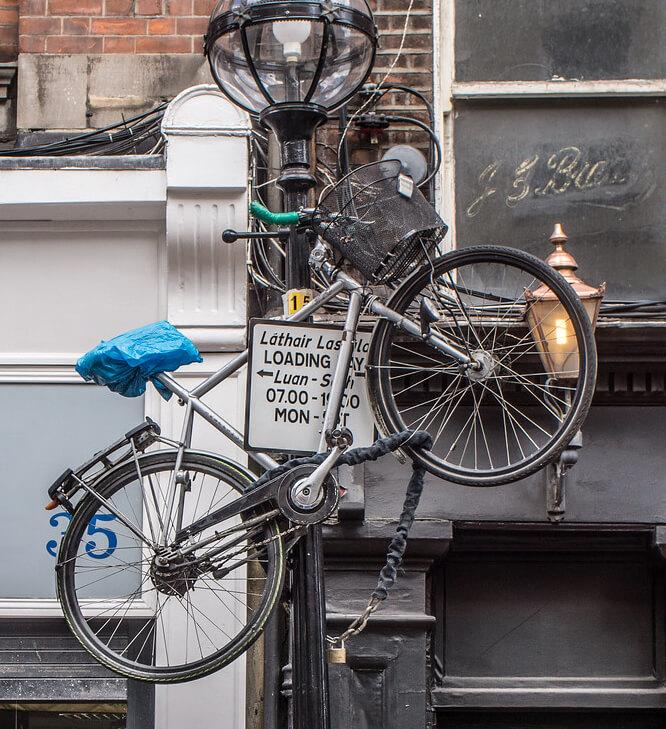 Un vélo parfaitement protégé du vol