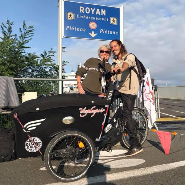 L'arrivée à Royan en Charente-Maritime